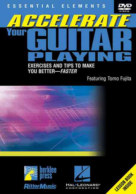 ACCELERATE YOUR GUITAR PLAYING BY FUJITA,TOMO (DVD)